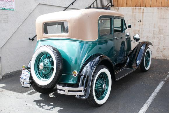 1931 Ford Model A Wedding Car